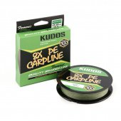 Шнур плетеный Kudos 8X Carpline PE 0,18mm 300m